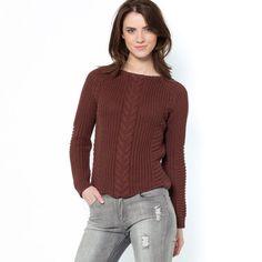 Jersey con trenza delante 60% algodón SOFT GREY