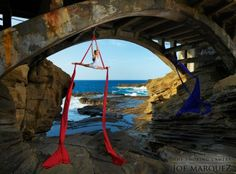 Location aerial dance. More awesome.