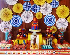 30 Best Curious George Birthday Party Ideas Images Curious