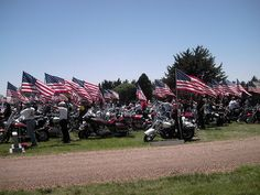 The Patriot Guard Riders, established in Mulvane, Kansas at American Legion Post 136 in 2005,  is a motorcycle club whose members attend the funerals of US armed forces members, firefighters, and police at the invitation of the deceased's family. The group was formed in 2005, to shelter and protect the deceased's family from protesters such as the Westboro Baptist Church. The group also greets troops returning from overseas at welcome home celebrations and deployment ceremonies.