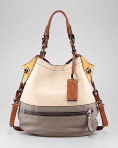 Oryany Sydney Colorblock Shoulder Bag