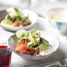 Beef, bean and chorizo chilli