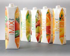 Легкость, свежесть, Exotic Mix -Потребительский брендинг