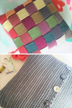 Free Scheepjes Catona Cushion Cover Crochet Pattern