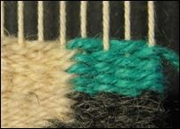 A few weeks ago I was teaching the weft interlock to a student, when we both observed that it sometimes looked really good and other times i. Pin Weaving, Loom Weaving, Ombre Weave, Body Wave Weave, Tapestry Loom, Crochet For Beginners, Weaving Techniques, Woven Rug, Lana