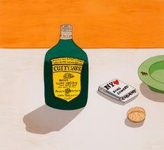 安西水丸『カティサーク自身のための広告』 『象工場のハッピーエンド』(CBSソニー/講談社)より 1983年 個人蔵