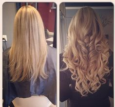 Hair do - gorgeous hair by using tape in hair extensions. Get this look at www.glamseamless.com