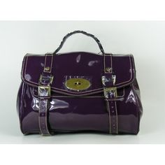 Fashional Mulberry Alexa Bag Patent Leather Purple Mulberry Purse, Mulberry Alexa, Girl Trends, Purple Bags, Bag Sale, Patent Leather, Leather Bag, Purses And Handbags