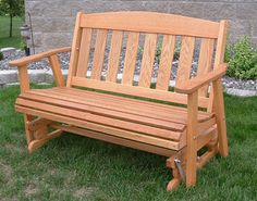 Mission Cuddle Glide, Amish Outdoor, 5 ft stained oak, $379 plus UPS shipping, call for rates Princeton, MN