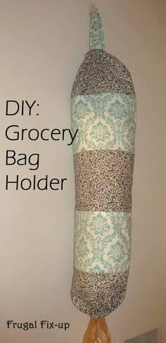 DIY: Grocery Bag Holder