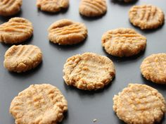 If you eat 10 of these delicious cookies you'll be consuming 30g of pure WPI and only 5g of fat! Plus, the recipe is beyond simple, you don't even bake 'em. A must try! http://bit.ly/1mLp9Oj  (Recipe courtesy of @thedietchef)