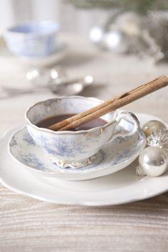 Tea with cinnamon stick