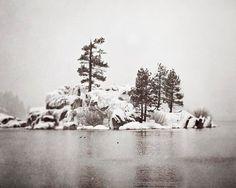 Winter Lake 8x10 Photo Print