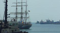 Bricul Mircea, Portul Constanta. #seaport #blacksea #romania Black Sea, Sailing Ships, Boat, Pictures, Photos, Dinghy, Boats, Sailboat, Grimm