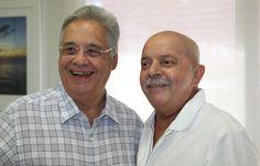 ex-presidents: Fernando Henrique Cardoso (PSDB) and Lula (PT) - democratic country