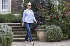 How to wear off-the-shoulder when you are older - That's Not My Age