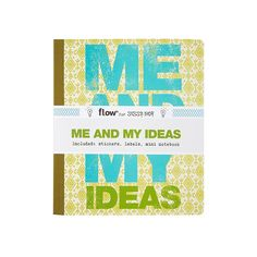 Samenwerking Sissy-Boy & Flow - Notebook is ontwikkeld in samenwerking met FlowMagazine. Alles om creatief bezig te zijn: teken, schrijf en plak. Bijgevoegd: stickers, labels en slingers. Dit boekje is uitgegeven door Flow Magazine; een tijdschrift zonder haast, over klein geluk, andere keuzes en simpeler leven. Het tijdschrift is overal ter wereld te koop en de online store is naast een internationale webshop het platform voor creatieven, illustratoren en designers.