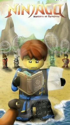 Lego Ninjago Charm Pendant Necklace Jay Kai Lloyd Zane