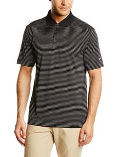Nike Golf Victory Stripe Polo  BlackWhite XL >>> See this great product. Note:It is Affiliate Link to Amazon.