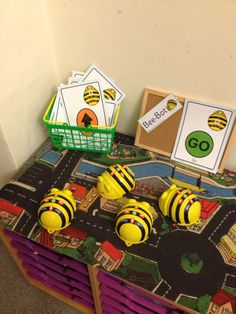 Bee-bots - coding for reception.