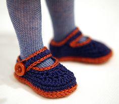 Ravelry: cataddict's promenade à Paris (crochet shoe free pattern) ● Teresa Restegui http://www.pinterest.com/teretegui/●