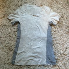 Lululemon Tee EUC, barely worn, no rips or stains! Will trade for other lulu lululemon athletica Tops