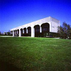 FATA Headquarters, Pianezza (Turin) Italy (1975) | Oscar Niemeyer | Foundation Oscar Niemeyer