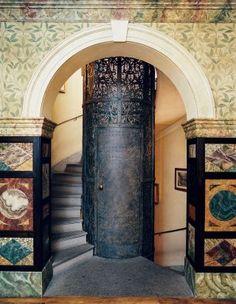Exotic Entrance Hall by Studio Peregalli in Milan, Italy