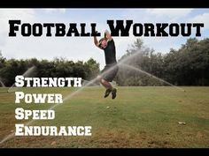 Football Speed & Endurance Conditioning Workout - 20 Exercises to make you a BEAST on the field!