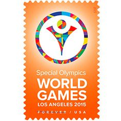 Postal Service® celebrates the 2015 Special Olympics World Games, the flagship event of the Special Olympics movement with a Forever® Stamp Buy Postage Stamps, Buy Stamps, Love Stamps, Cute Wedding Ideas, Wedding With Kids, Los Angeles Logo, Price Of Stamps, Commemorative Stamps, Pinterest Crafts