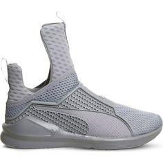 PUMA Rihanna Fenty Fierce trainers ( 185) ❤ liked on Polyvore featuring  shoes abace8d4b