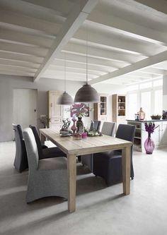 Eetkamer met eettafel Elano in diverse maten beschikbaar | Voor meer informatie en de diverse mogelijkheden kijkt u op www.prontowonen.nl #ProntoWonen #tafels #eettafel #woonkamer #eetkamer #interieur
