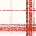 Caspari Belgian Linen Red Airlaid Paper Linen Cocktail Napkins Wholesale 11350CG