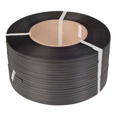 Polypropylene strapping on a cardboard core