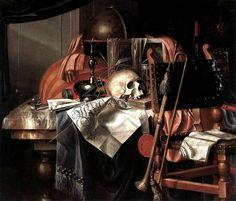 Franciscus Gysbrechts, Vanité, Anvers, deuxième moitié du xviie siècle, Koninklijk Museum voor Schone Kunsten.