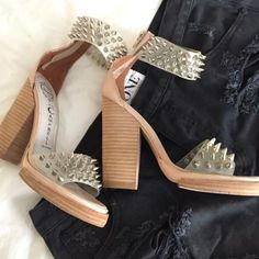 Jeffrey Campbell Shoes - Jeffery Campbell spiked sandals on Poshmark