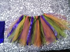 Witch Tutu!  After 2 re-do's I finally got it how I want it, can't wait to wear it! ♥