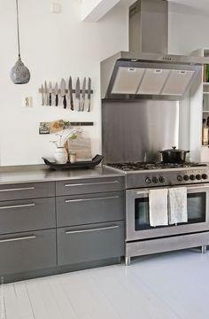 Mitt fargeløse kjøkken   vår = sant