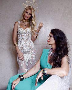@yasminbrunet1 e @luizabrunet mostram que não só a beleza como também o amor pelo carnaval são hereditários ao chegar no Baile da Vogue. (Foto @flavioteperman) #bailedavogue #bailedavogue2017 #ladyzodiac  via VOGUE BRASIL MAGAZINE OFFICIAL INSTAGRAM - Fashion Campaigns  Haute Couture  Advertising  Editorial Photography  Magazine Cover Designs  Supermodels  Runway Models