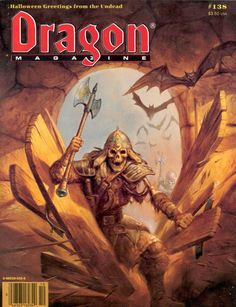 Dragon Magazine Cover 138