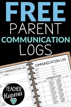 Learn how to use these FREE Parent Communication Logs to document student behavior and academic progress in your classroom. Yay classroom management!