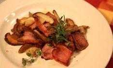Μανιτάρια με Σύγλινο Κρήτης #ΚρήτηΜου Steak, Pork, Beef, Chicken, Kale Stir Fry, Meat, Steaks, Pork Chops, Cubs