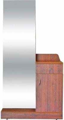 Eros Iris Engineered Wood Dressing Table Finish Color Wooden