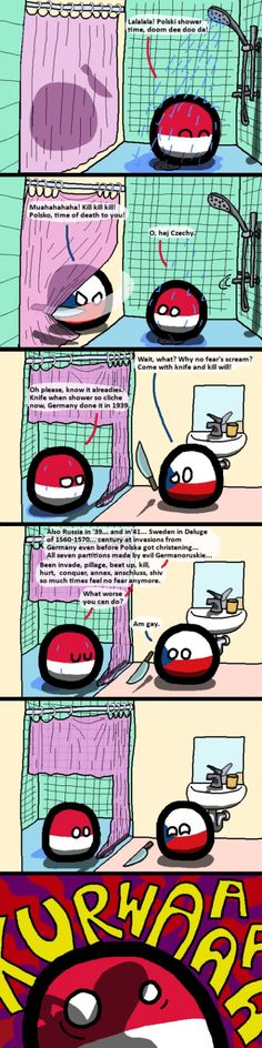 Poland gets scared Best Funny Pictures, Funny Images, Hetalia, History Memes, Country Art, Fun Comics, Comic Boards, Videos Funny, Hilarious