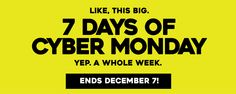 7 days of CYBER MONDAY on special education curriculum