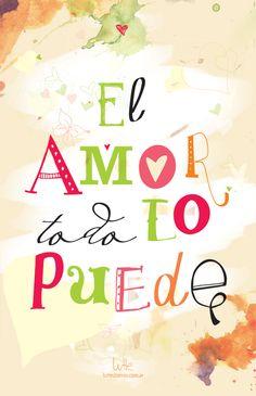 el amor todo lo puede                                                                                                                                                                                 Más
