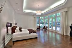 #Prince's former home - 61 The Bridle Path - Master Bedroom Doors To Garden