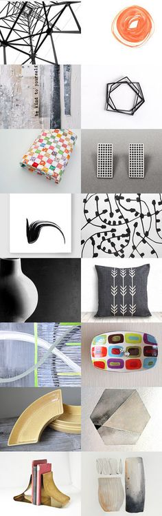 Hard Lines , Soft Lines by Janet Mealha on Etsy--Pinned with TreasuryPin.com