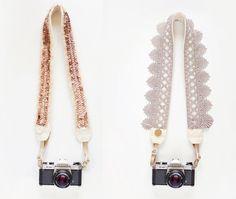 DIY camera straps