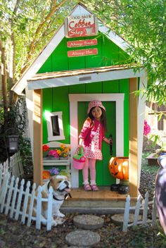 Building a Crooked Playhouse   Kids Crooked House Raising the Roof for Children's Charities
